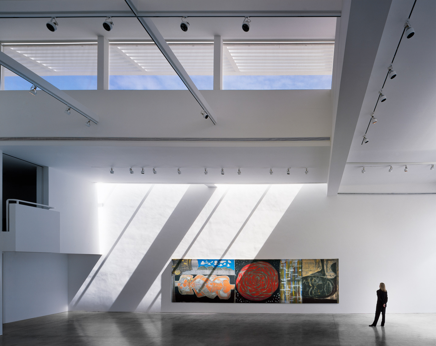 Art Museum, Skylights, Modern Architecture