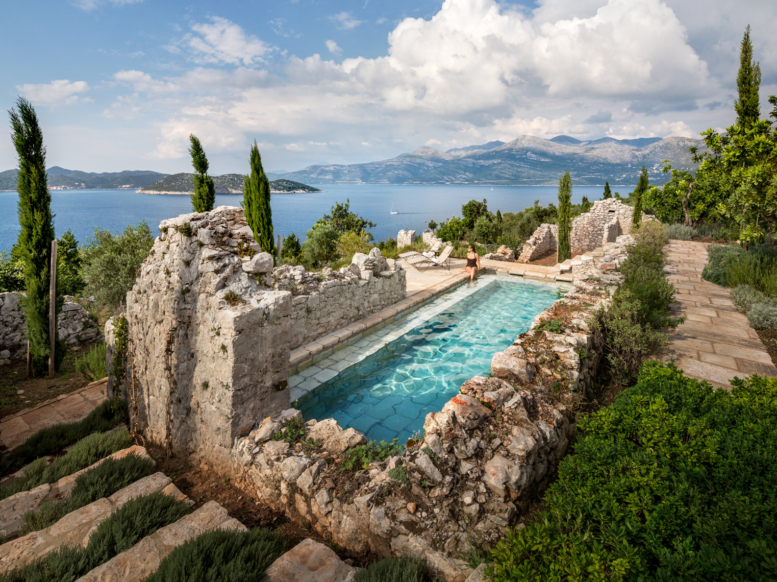 Croatia, Steven Harris, Swimming Pool, Outdoor Living
