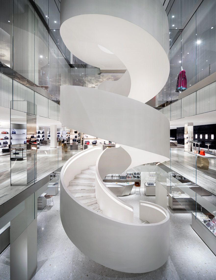 Barneys New York, Steven Harris, Luxury Shopping