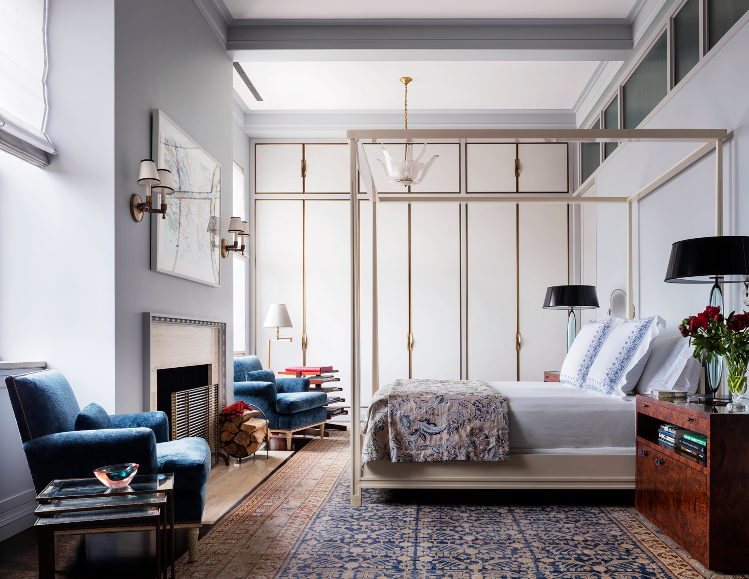 Thad Hayes, Four-Poster Bed, Interior Design