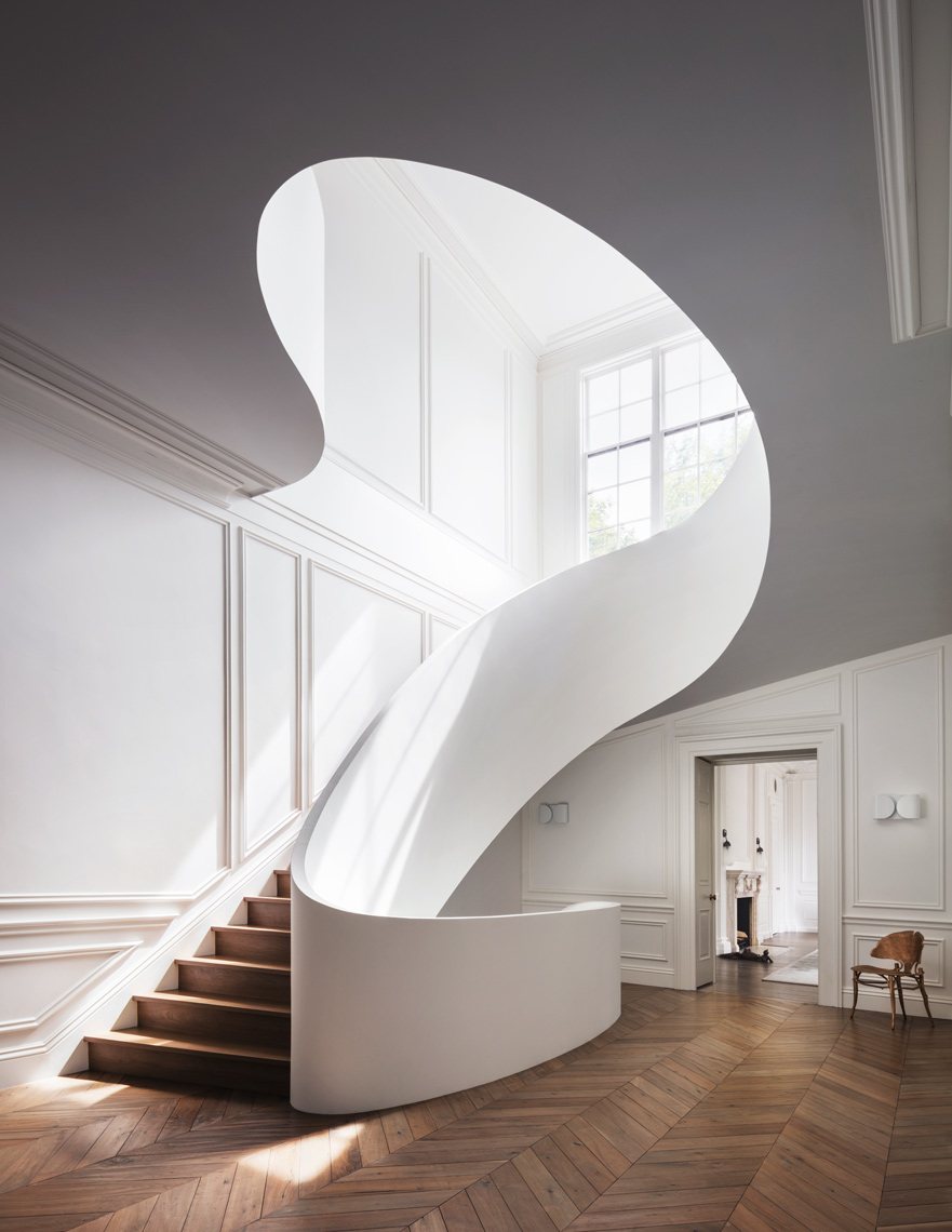 Boston Townhouse, Steven Harris, Modern architecture