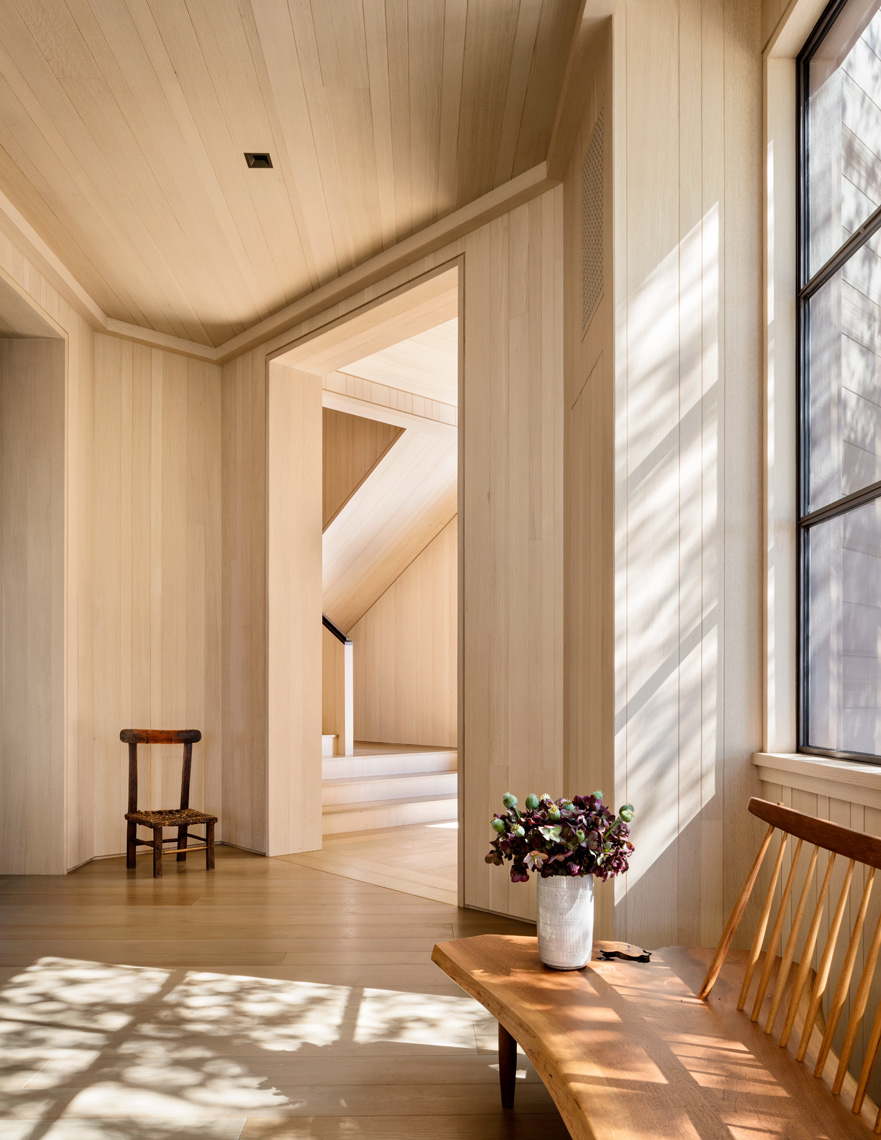 Wood Panelling, Scott Mitchell, Los Angeles, Foyer