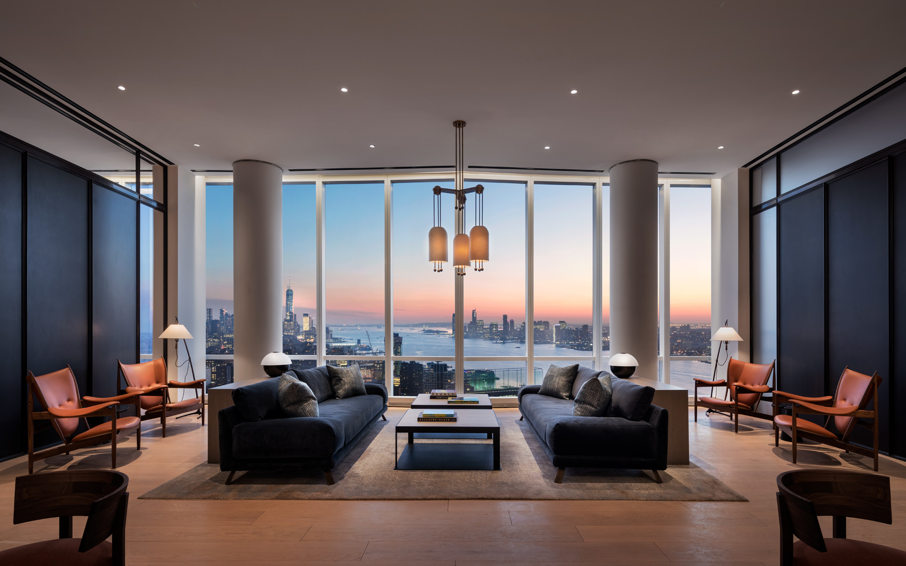 Hudson River Views, Hudson Yards, NYC skyline