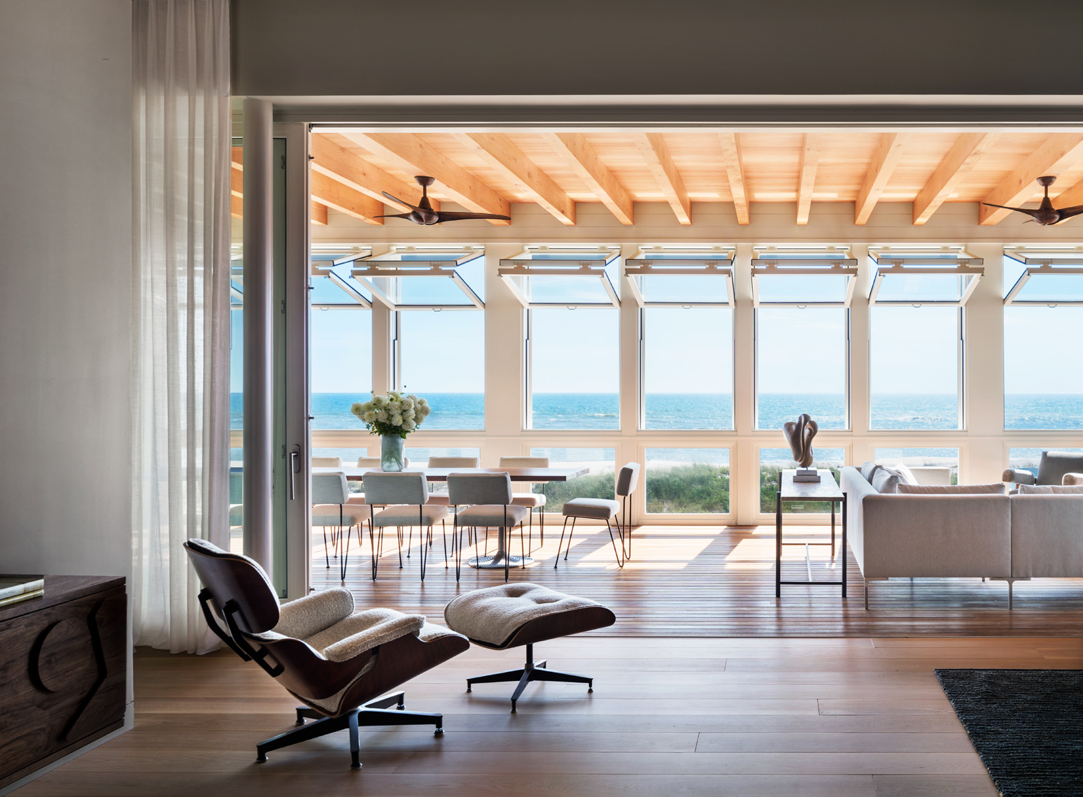 Luxury Living, Steven Harris, Hamptons, Ocean Views