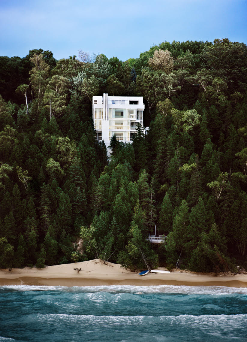 Douglas House, Richard Meier, Modern Architecture